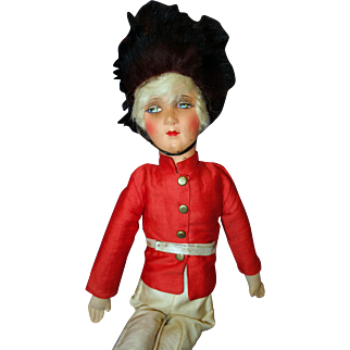 Toy Soldier Bed Boudoir Doll
