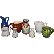 Doll size Pitchers and Tobys Mugs