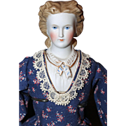Parian with Molded Collar
