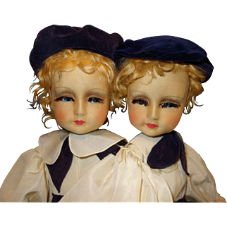 Blossom Doll Fraternal Twins