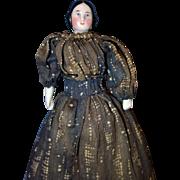 Covered Wagon China Doll