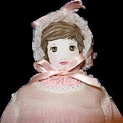 Moravian Cloth Doll