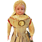 Pierotti Wax Doll Hamley stamp