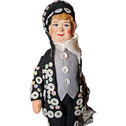 Old Cottage Doll Pearly King