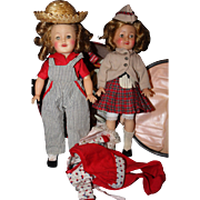 Shirley Temple Twins and outfits