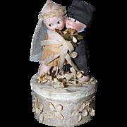 Kewpies Huggers Bride and Groom