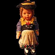 German Windup Doll