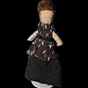 Early Folk Art Cloth Doll