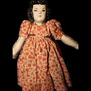 Early Hitty Wood Doll