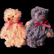 Gund Tiny Mohair Teddy Bears fully tagged
