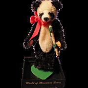 Mulan Panda Bear made from mohair