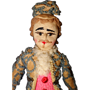 Worsted Cloth Doll 1880