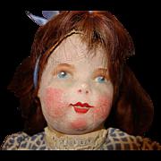 La Francia Cloth Doll Marie Christine D'Eichtal