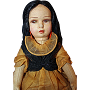 Lenci Doll  dressed in original Spain Tagged costume
