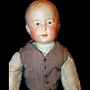 Gebruder Heubach Character Boy Doll Doll  7759