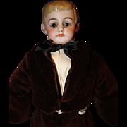 American School Boy Bisque Doll