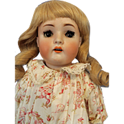 20 inch Bisque Doll on Unusual body