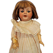 Simon Halbig 126 Bisque Doll 17 inches tall