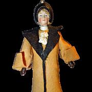 German Bisque Nodder Doll All Original