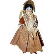 Tiny 1880 China Doll all original