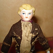 Very Early Doll House Man 1875 All original