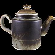 Porsgrund of Norway, Eames Era Teapot Lava Design - Red Tag Sale Item