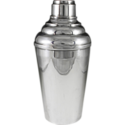 Danish Vester Silverplated Cocktail Shaker