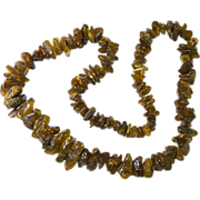 Genuine Baltic Amber Chunky Necklace