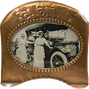 Copper Picture Frame From the Early 20th Century