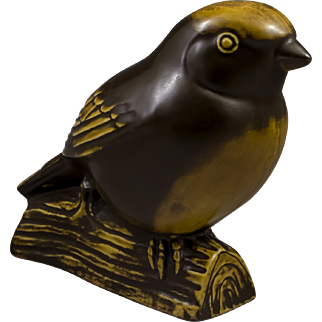 Gustavsberg of Sweden, Bird Figurine Designed by Sven Wejsfelt