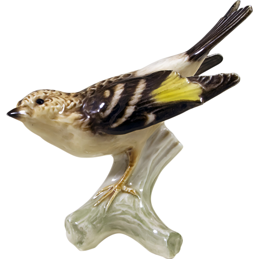 Vintage Goebel West Germany Bird Figurine Brambling From
