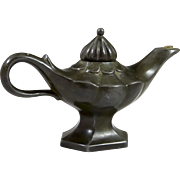 Denmark Just Andersen Aladdin Oil Lamp, Art Deco Style