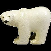 Large Lisa Larson Gustavsberg Polar Bear Figurine
