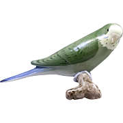 Parakeet/Budgie Figurine From BIng & Grondahl of Denmark