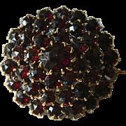 Victorian era- Garnet pin
