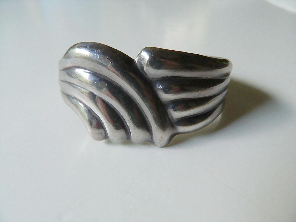 Heavy sterling silver- Cuff bracelet