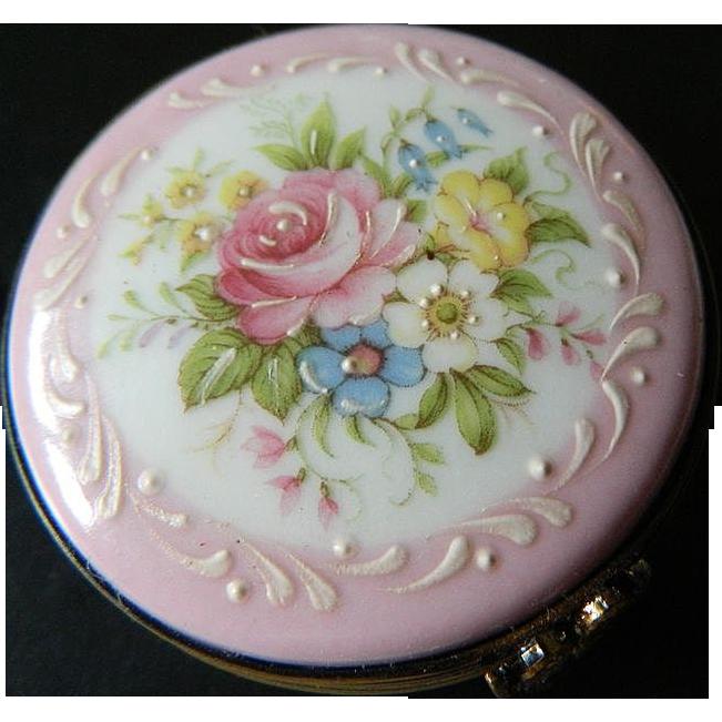 Charming-Limoges porcelain trinket box