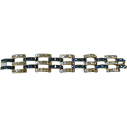 Gorgeous-Deco- glass stone- Bracelet