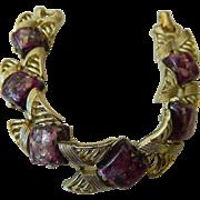 1950's Link bracelet-Signed