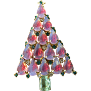 Gorgeous-large Christmas tree pin