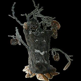 Haunted tree-Halloween decoration