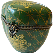 Elegant vintage Limoges porcelain Trinket box
