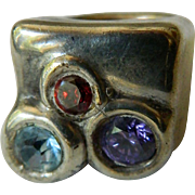 Israel  Sterling-silver ring