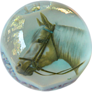 Large paper weight-Horse motif