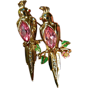 1948- Coro duette pin with Earrings- Alfred Katz-SALE!