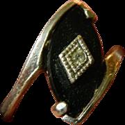 Sterling- onyx- cz- Espo ring