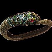 KJL-Kenneth J. Lane jeweled snake Bracelet