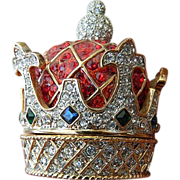 Jeweled Crown-Trinket/ring Box