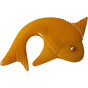 Bakelite Fish pin