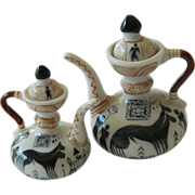 Delightful pair-Mini porcelain tea Pots